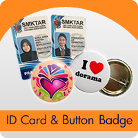 ID Card & Button Badge
